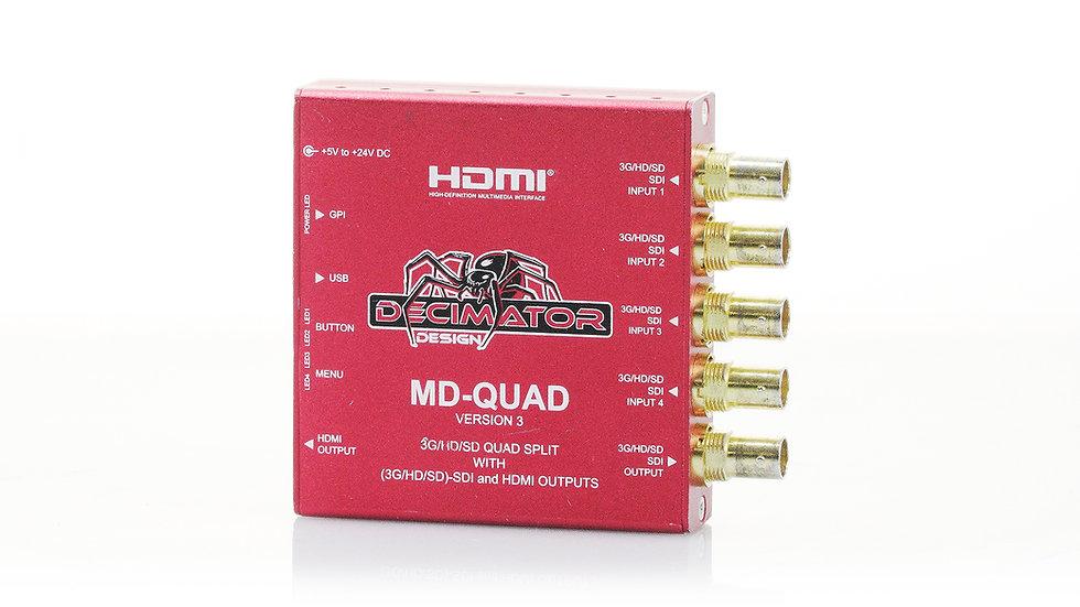 Decimator MD-QUAD V3 - SDI QUAD Splitter