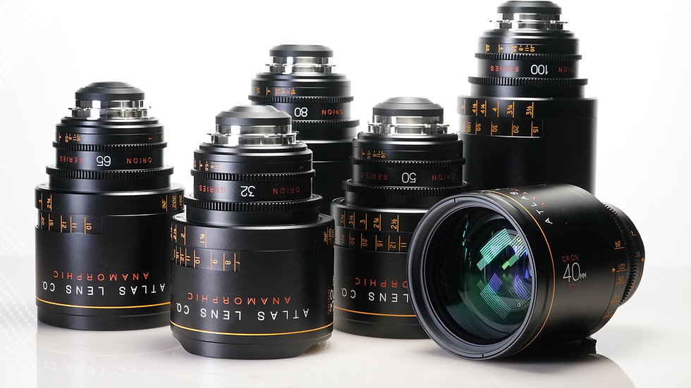 Atlas Orion Anamorphic - 6 Lens Set
