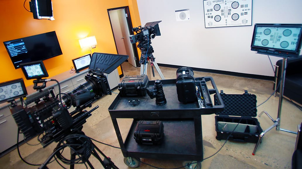 Prep Area with Cameras