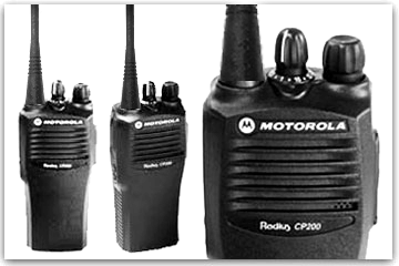 MOTOROLA WALKIES NOW AVAILABLE FOR RENT!