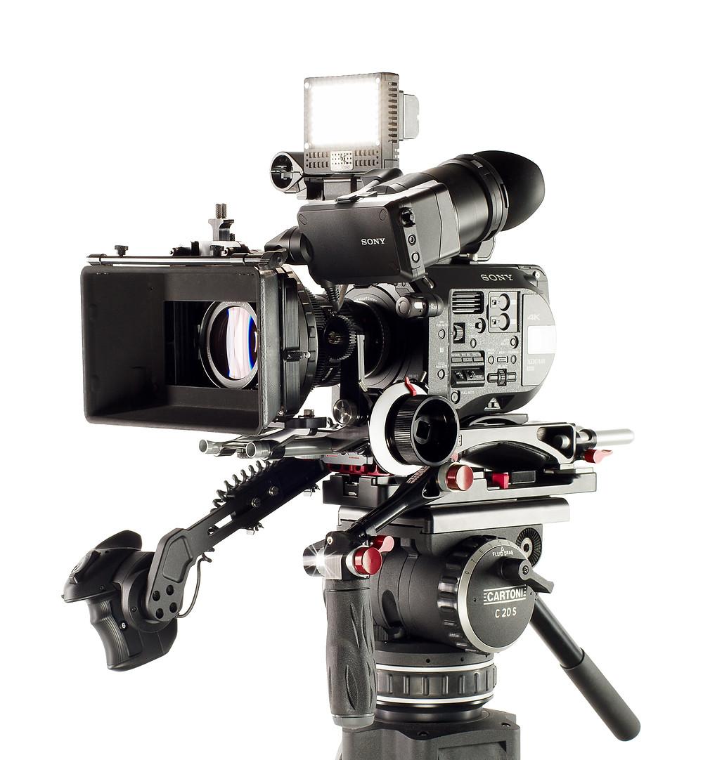 SONY 4K Champ - The FS7 Camera Photo