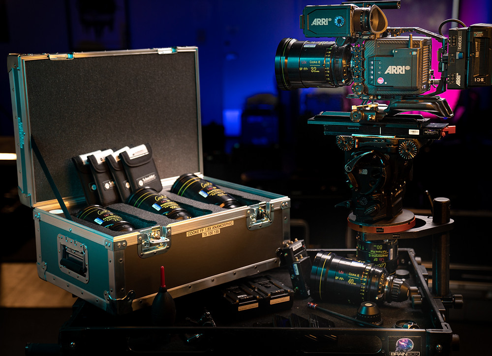 Cooke Full Frame Anamorphics at Brainbox Cameras