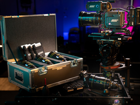 Just unboxed! - Cooke FF Anamorphics @ Brainbox™
