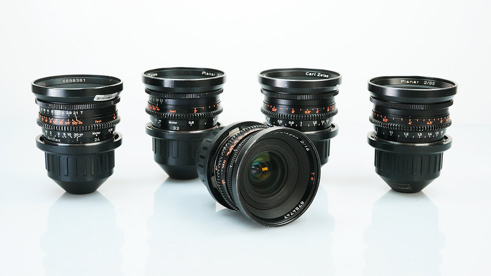 Zeiss Standard Speeds - 5 Lens Set