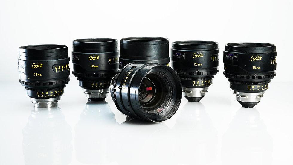 Cooke S4 6-Lens Set