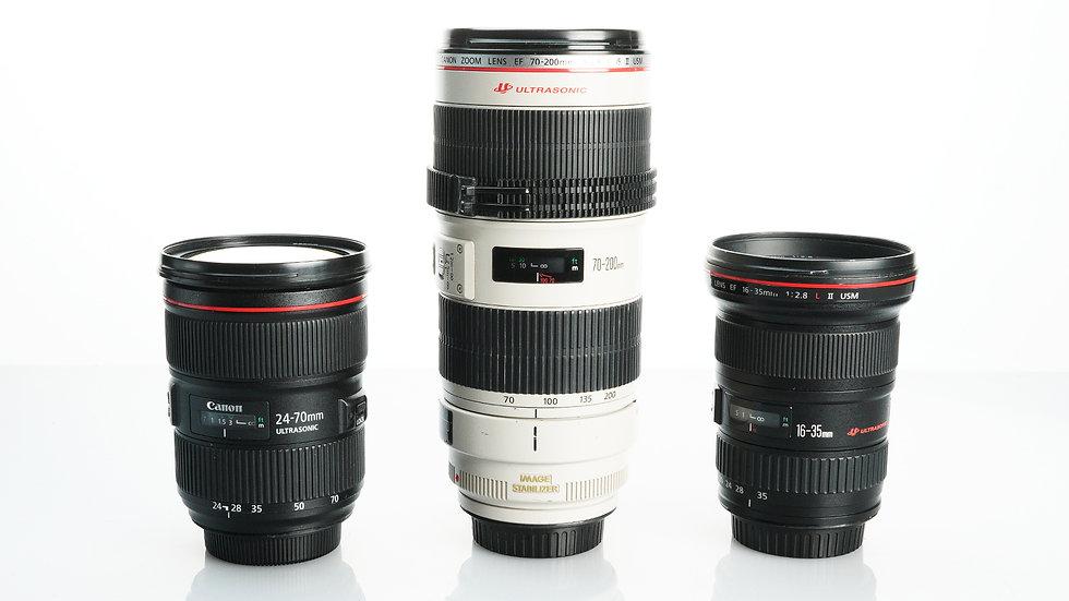 Canon L Series EF Zooms Bundle