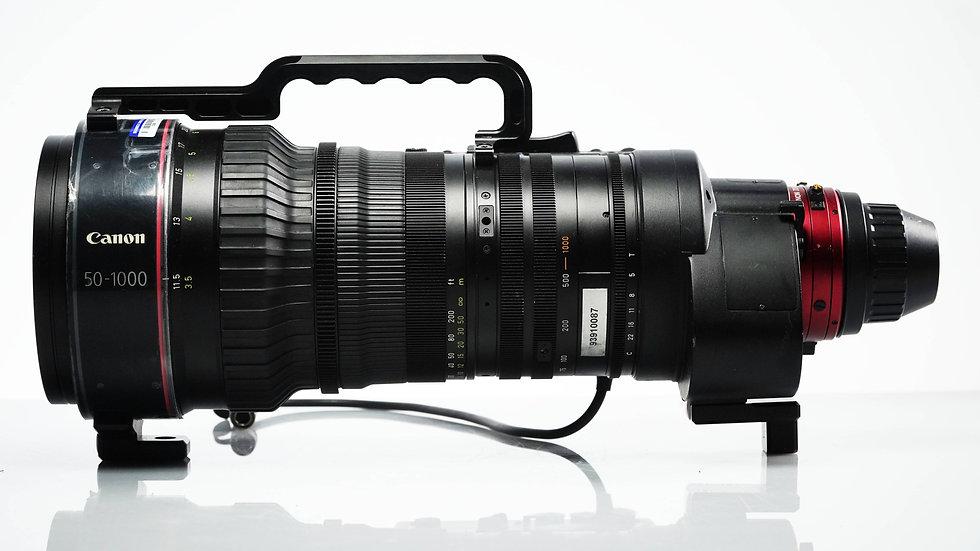 Canon CN20 50-1000mm Cine-Servo PL Mount Zoom Lens