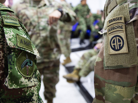 U.S. And Colombian Troops Begin Airport Security Training In Colombia