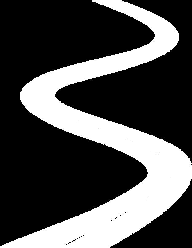 Route blanche