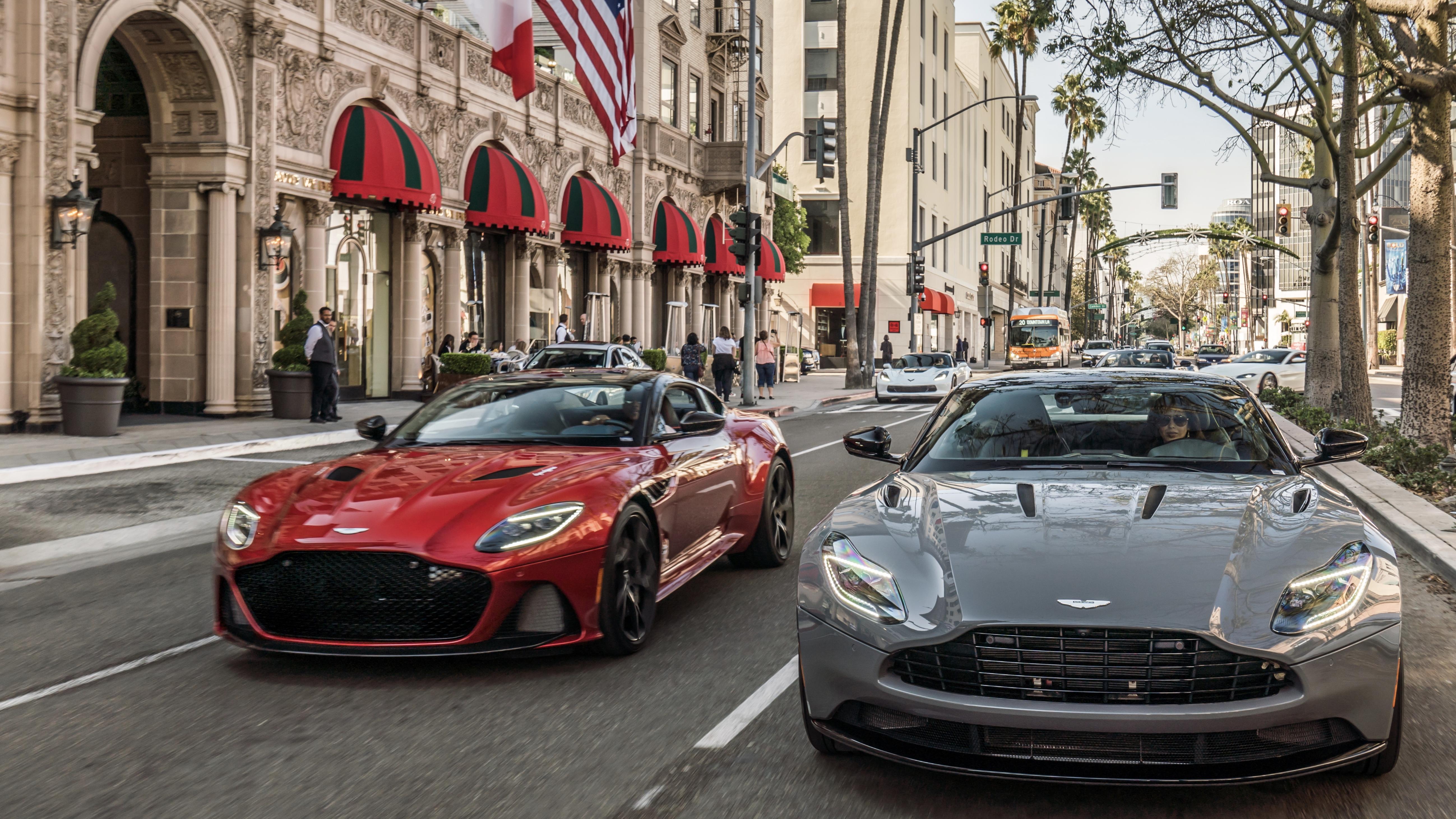 Natasha Overin, Aston Martin