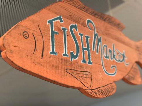 Fish Market Sign