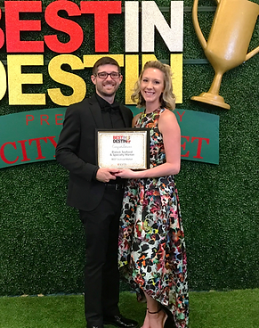 Shane & Michelle Blalock at the Best in Destin Award Ceremony