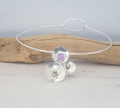 Trinity Torque Necklace