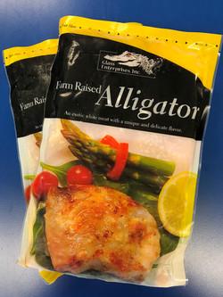 Frozen Alligator Tail Meat