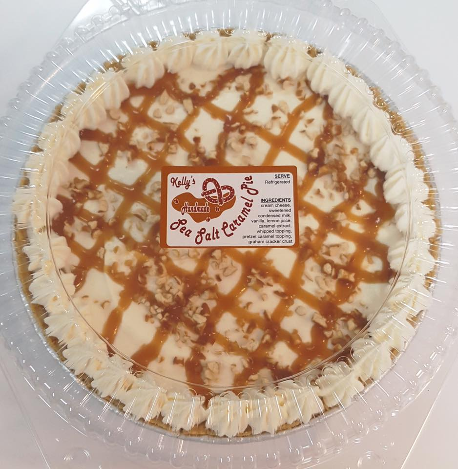 Kelly's Sea Salt Caramel Pie