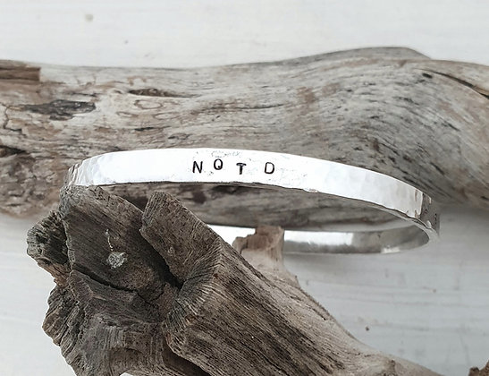 Sobriety Bangle NQTD (Never Question the Decision)