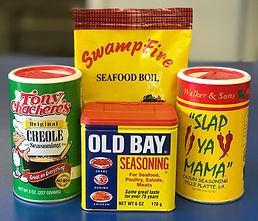 Seasoning Options: Old Bay, Creole, Slap Ya Mama, Swampfire