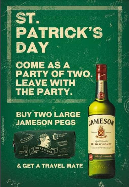 Jameson Offer