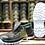 vista de la planta bidensidad del zapato de seguridad economico