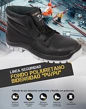 Calzado de seguridad economico con puntera de acero