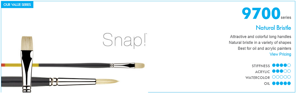 Snap! Oil Painting Brush