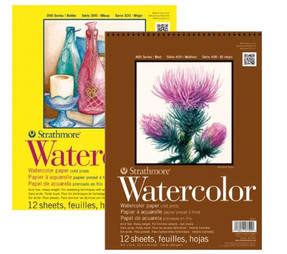 Strathmore Watercolor 300 & 400Pads