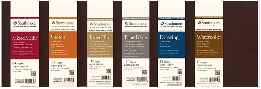 Strathmore Soft Cover Journals