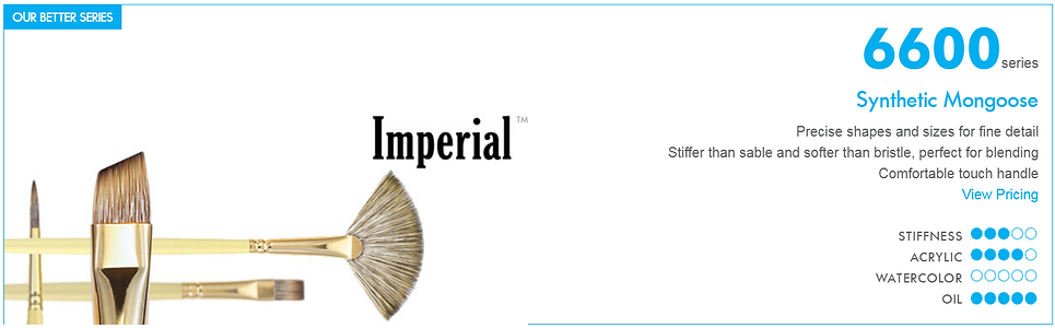 Princeton Imperial Oil Brush