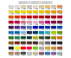 Amsterdam Acrylic Color Chart