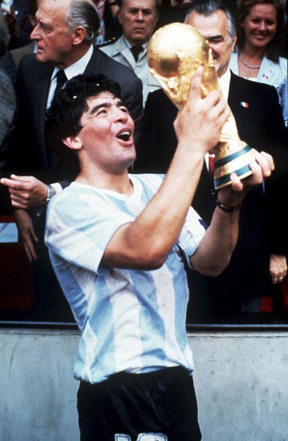 Maradona World Cup Mexico 1986