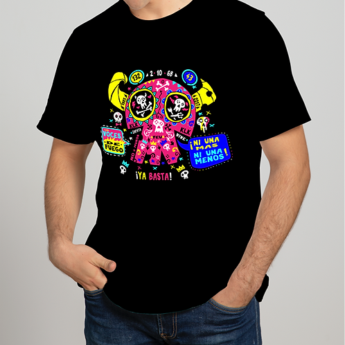 Camiseta Calaka cuernos (Hombre)