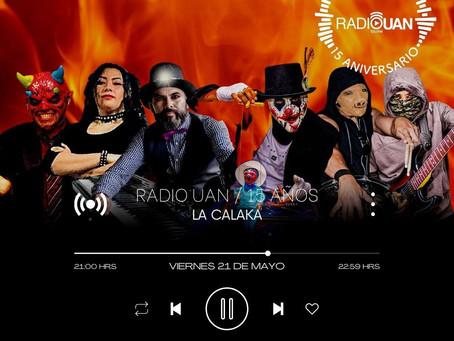 Aniversario XV de Radio UAN 21 Mayo 2021 - Tepic Nayarit (video)