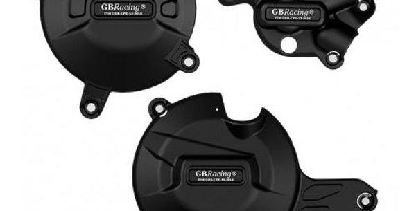 GB Racing Secondary Engine Cover Set - Suzuki SV650 2015-2018