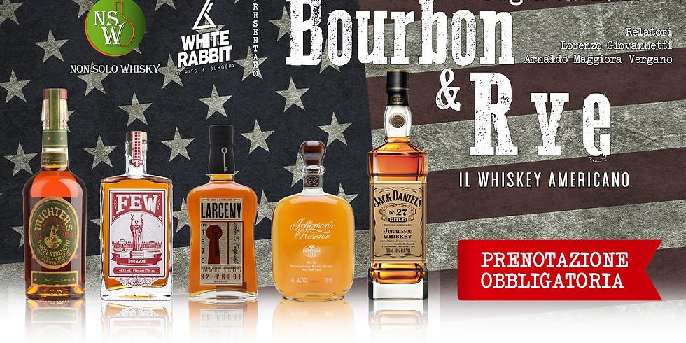 Degustazione Bourbon & Rye