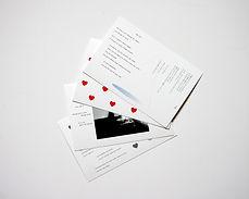 postcards laser print
