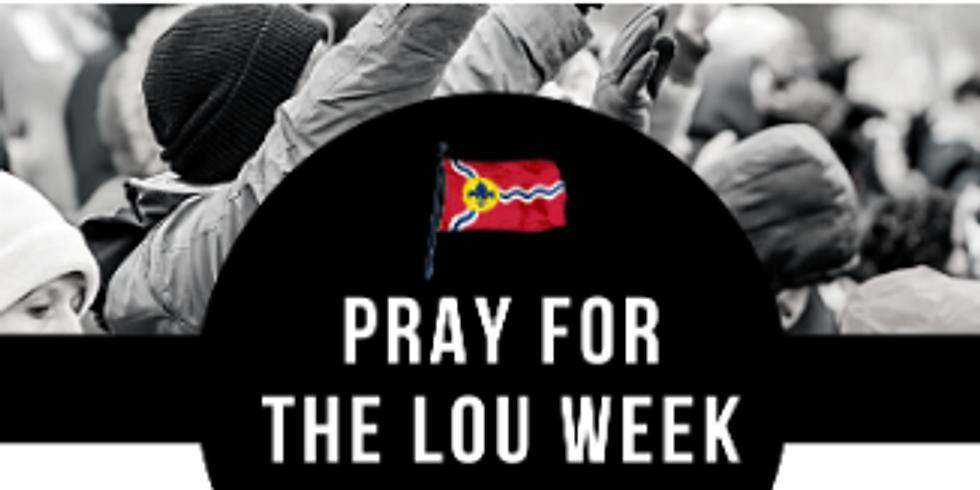 Pray for Lou Prayer Walk