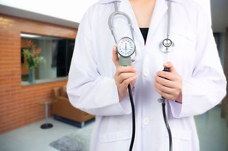 doctor-holding-blurred-patient-emergency