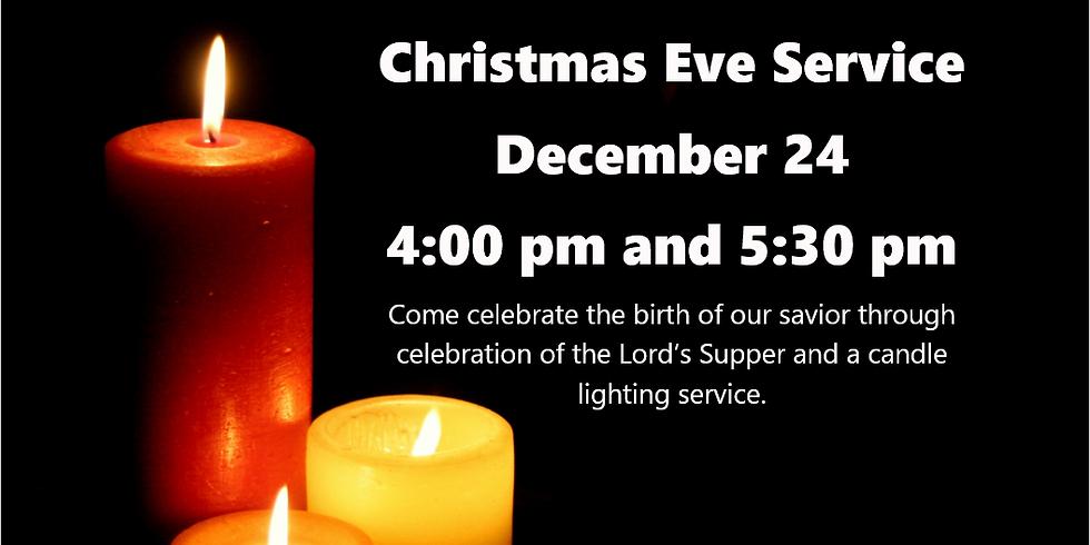 Christmas Eve Service @ 4:00 pm