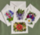Floral Notecards: Wallflowers And Cards, mixed Bouquets