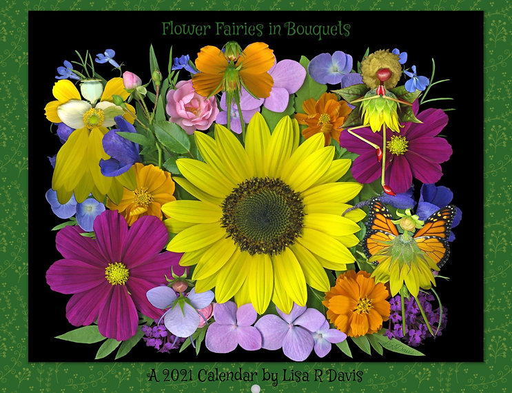 Flower Fairies in Bouquets Calendar Front