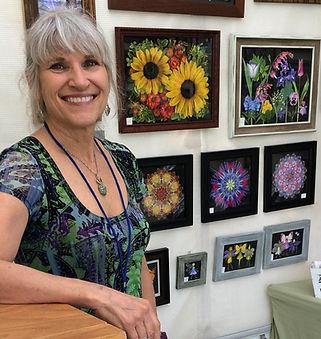 Lisa R Davis, scannography artist