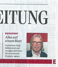 Bericht in der Berner Zeitung