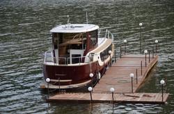 Пирс и яхта