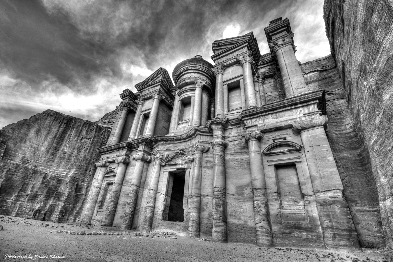 Monastery, Petra, Jordan