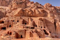 Cave Dwellings, Petra, Jordan