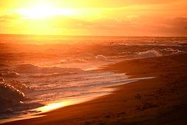 Golden Sunrise, Cape Cod