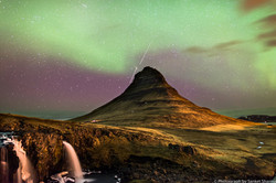 Northern Lights, Kirkjufell, Iceland