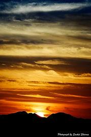 Saharan Sunset