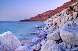 Sunset at Dead Sea, Jordan