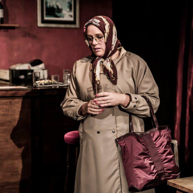 As Old Woman in 'Two' by Jim Cartwright